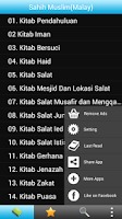 Screenshot of Sahih Muslim Malay (Hadith)