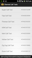 Screenshot of Chennai Call Taxis