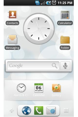 GDE Theme: Froyo White Icons