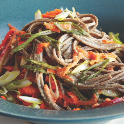 Soba Salad with Miso Dressing