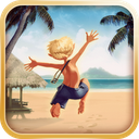 Paradise Island with Mobage mobile app icon
