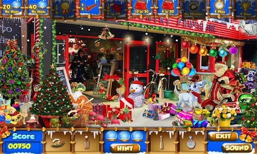 Christmas Cafe Hidden Object - screenshot