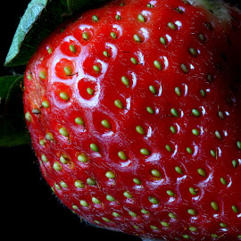 Strawberry by Sanjib Paul - Food & Drink Fruits & Vegetables ( fruit, nature, food, drink, strawberries, vegetables, strawberry )