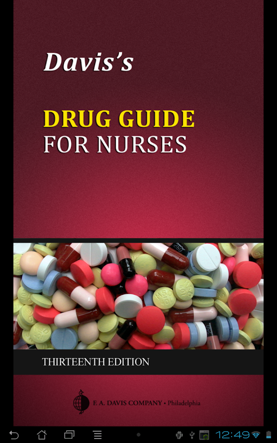 Davis's Drug Guide for Nurses Screenshot 4