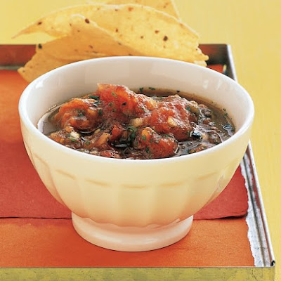 Grilled-Tomato Salsa