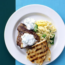 Lamb Chops with Yogurt Sauce