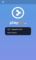 Screenshot of PlayOn