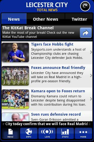 leicester-city-total-news for android screenshot