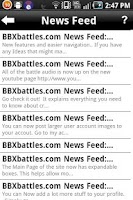 Screenshot of BBXbattles