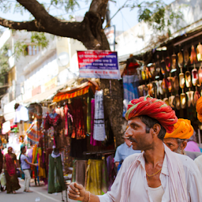 Pushkar Bazar by Adityendra Solanki - People Street & Candids ( pushkar fair, tourism india, pushkar, rajasthan, turban, nikkor 35mm f/1.8, india, nikon d7000, tourism rajasthan )