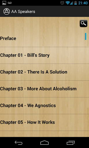 AA Speakers (Alcoholics) - screenshot