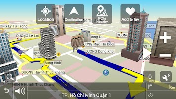 Screenshot of VIETMAP X10 Q1.2014