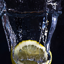 by Ashley Schounard - Food & Drink Fruits & Vegetables ( water, fruit, lemon )