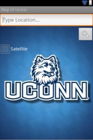 Map of Uconn