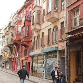 side street in Istanbul by Luci Henriques - City,  Street & Park  Street Scenes