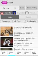 Screenshot of Video PV:Youtube music player
