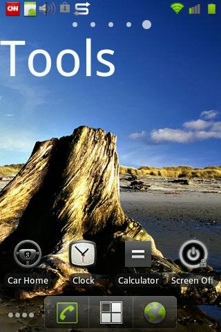 Home Screen Title Widget