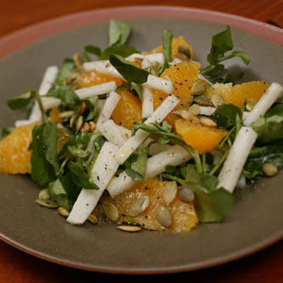 Orange, Jícama, and Watercress Salad