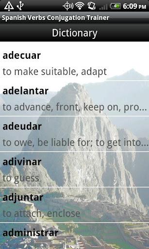Spanish Verbs Conjugation