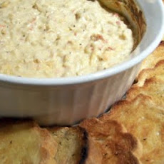 Low Fat Hot Crab Dip