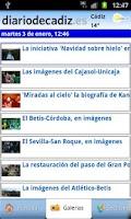 Screenshot of Diario de Cadiz