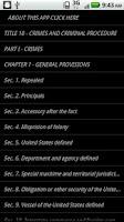 Screenshot of USLaw 18 USC - Criminal Law