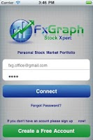 Screenshot of Stock Portfolio No' 1 App