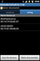 Screenshot of Bluetooth Handwrite Pad Free