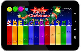 Screenshot of My baby Xmas piano