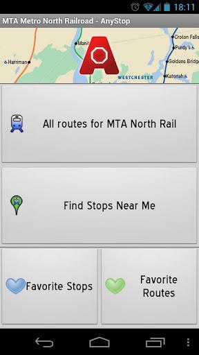 MTA Metro North: AnyStop