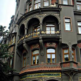 Synagogue - Prague by João Pedro Loureiro - City,  Street & Park  Street Scenes