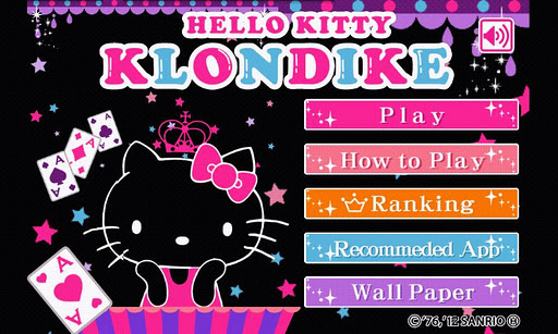 【免費娛樂App】HELLO KITTY KLONDIKE-APP點子