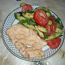 Hot Chicken Filet Salad
