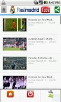 Screenshot of Real Madrid Tube