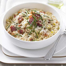 Leek & Bacon Risotto