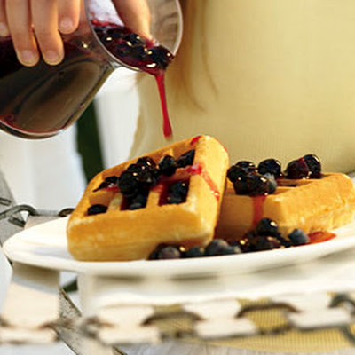 Summer's Best Blueberry Sauce