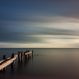Ten Minutes of Sunrise by Stan Klasz - Landscapes Waterscapes
