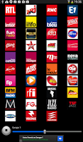 Screenshot of Radios France