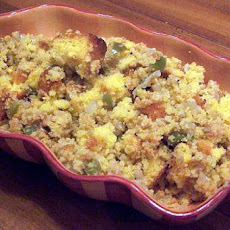 Sweet Potato Cornbread Stuffing