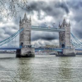 Tower Bridge London by Roderick Leitch - Buildings & Architecture Bridges & Suspended Structures ( london tower bridge )
