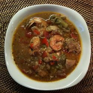 Creole-style Chicken And Prawn Gumbo