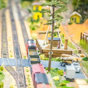 Model trains by Jon Cody - Artistic Objects Toys ( model, railroad, toys, rail, trains )