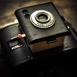 Found Treasure by Winterlyn Powell - Novices Only Objects & Still Life ( old camera, treasure, silhouette, antiques, cameras )
