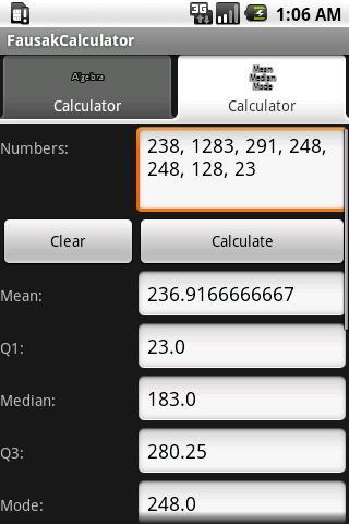 Fausak Calculator