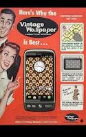 Screenshot of Vintage Wallpaper HD