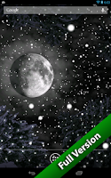 Screenshot of Winter Snowfall Free Wallpaper