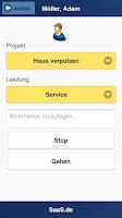 Screenshot of Time Clock SaaS.de