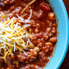 Kicked Up Slow Cooker Turkey Chili