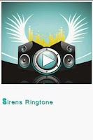 Screenshot of Sirens Ringtone