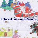 Ebook - Christine and Santa icon